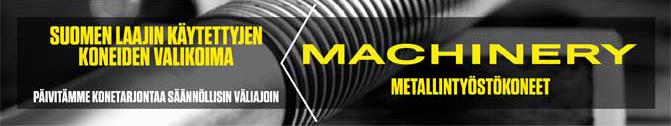 Metallintyöstökoneet - Machinery Oy