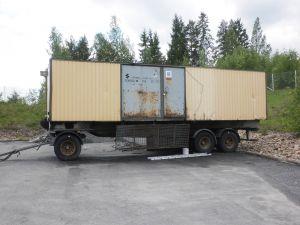 AGGREGAATTI / KORJAAMOVAUNU 400 kW / 500 KVA
